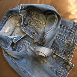 Girls Jean Jacket
